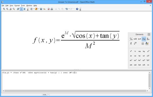 Imagen OpenOffice