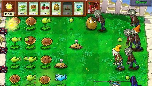 Imagen Plantas vs Zombies