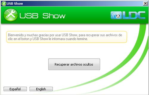 Imagen Usb show