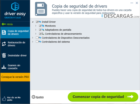 Imagen Driver Easy